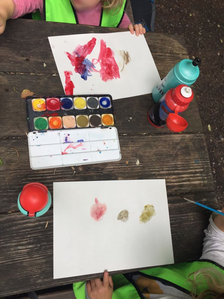 Farben kennenlernen spiel