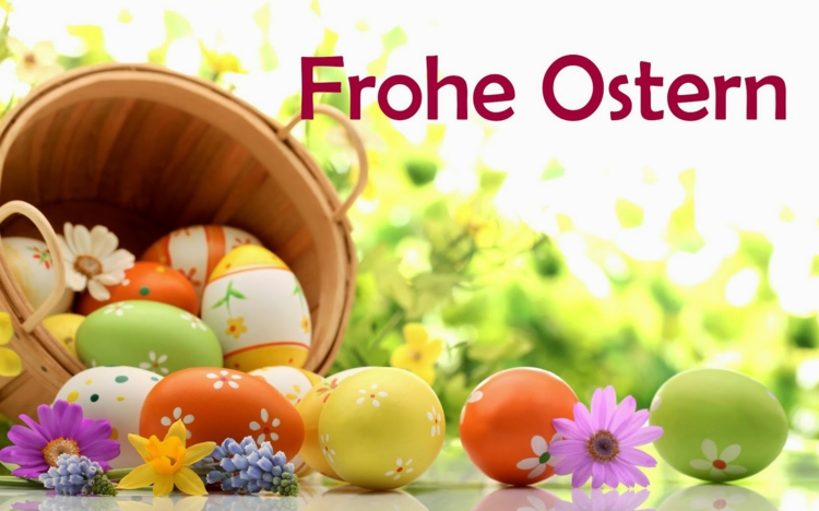 Frohe Ostern.2019