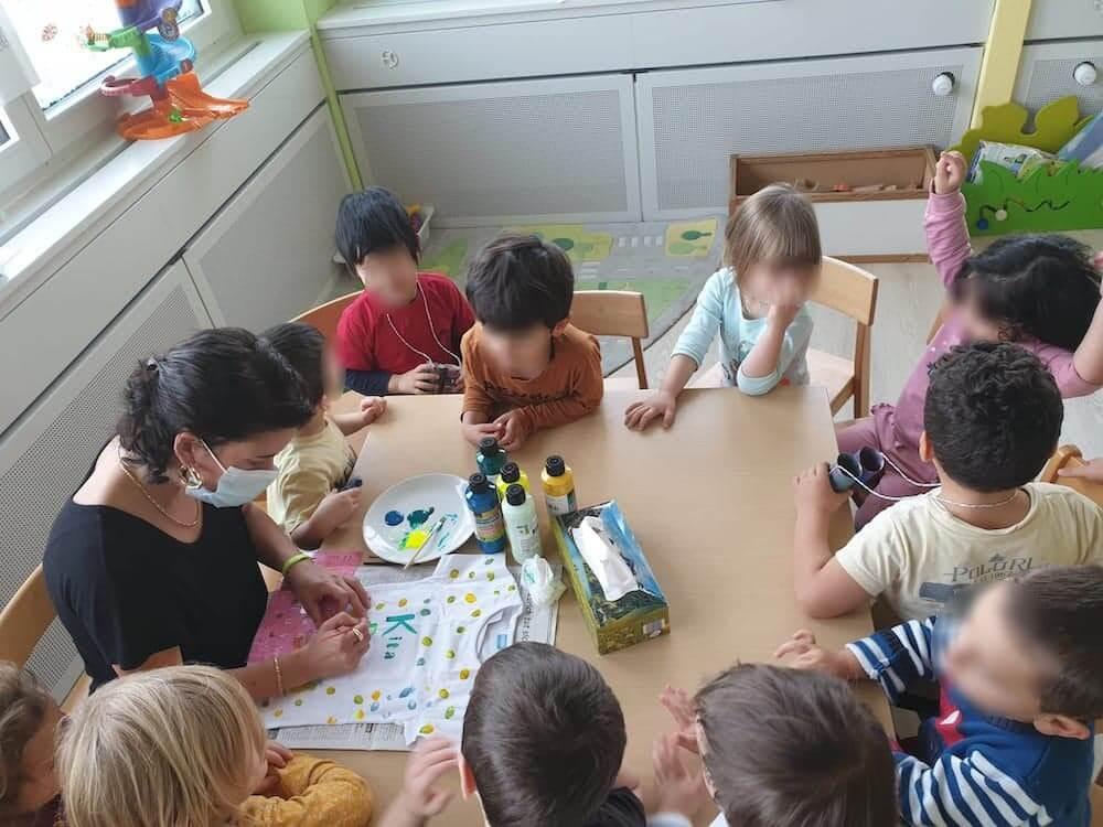 Abschiedsgeschenk basteln - Kinderkrippe und Waldkinderkrippe Blüemli in Zürich Witikon